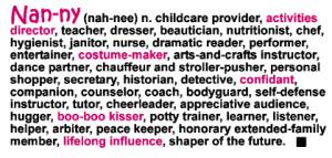 nanny definition